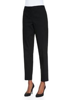Elie Tahari Jillian Slim Cropped Pants, Black