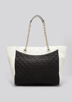 Tory Burch Tote - Colorblock Fleming East West