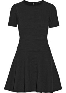 Tibi Vika crochet-knit cotton mini dress