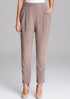 Joan Vass Draped Pocket Pants