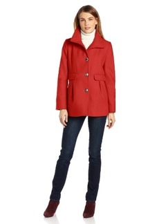 Kenneth Cole New York Women's Princess-Seamed Coat