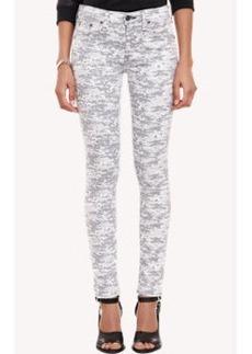 Rag & Bone Pixelated Camo-Print Skinny Jeans
