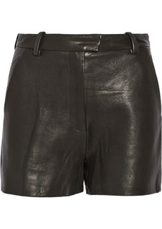 3.1 Phillip Lim Leather shorts