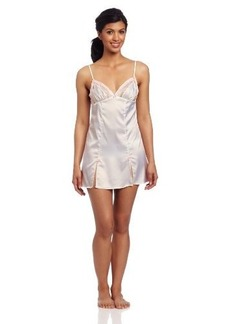 Betsey Johnson Women's Sultry Stretch Satin And Lace Slip
