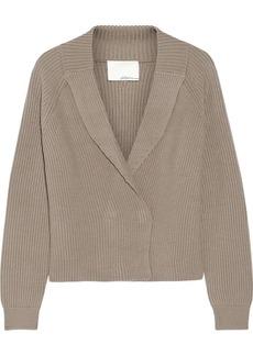 3.1 Phillip Lim Ribbed-knit wool cardigan