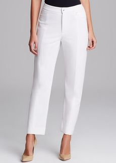 Joan Vass Seamed Ankle Pants