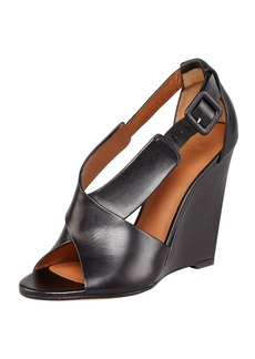 Givenchy Crisscross Wedge Sandal