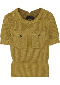 Burberry Prorsum Cotton-blend sweater