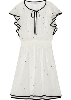 Valentino Polka-dot tulle mini dress