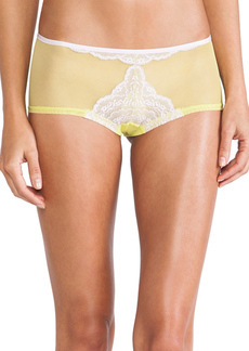 Cosabella Elise LR Hot Pant in Yellow