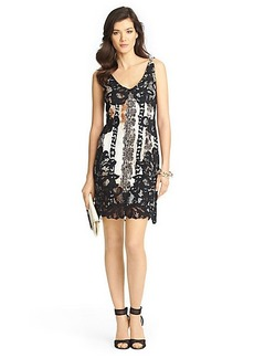 Sara Lace Combo Dress