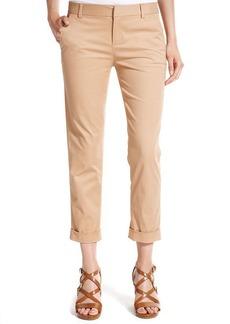 Tommy Hilfiger Straight-Leg Cuffed Cropped Pants