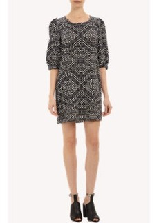 Twelfth Street by Cynthia Vincent Abstract-print Shift Dress