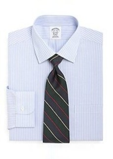 Non-Iron Regent Fit Ground Stripe Dress Shirt