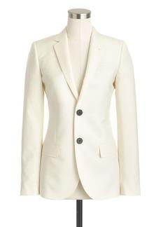 Collection women's Ludlow jacket in Italian wool-mohair