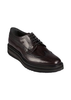 Prada cordovan patent leather creepers