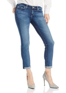 AG Adriano Goldschmied Women's Stilt Roll-Up Jean In 11 Year Journey