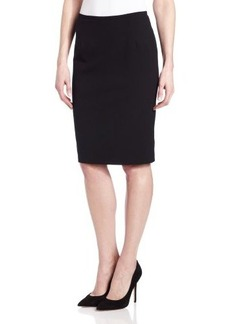 Calvin Klein Women's Lux Solid Pencil Skirt