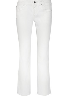Stella McCartney Skinny Kick mid-rise flared jeans