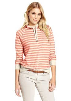 Lucky Brand Women's Striped Pullover Hoodie