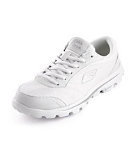 "Skechers® GOwalk™ ""Move"" Athletic Shoes - White/Silver"