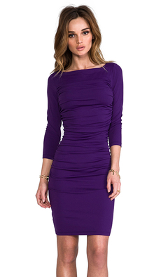 "Susana Monaco Light Supplex Genevieve 20"" Dress in Purple"