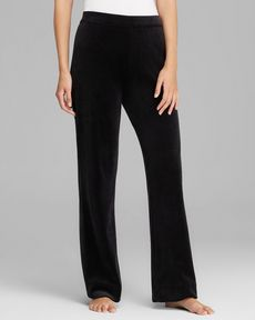 Joan Vass Casual Velour Pants