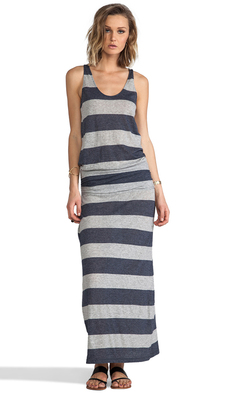 Soft Joie Wilcox Stripe Dress in Navy