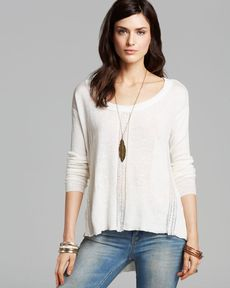 Free People Pullover - Lace Road