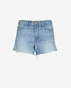 J Brand Loved Worn Button Fly Cut Off Short