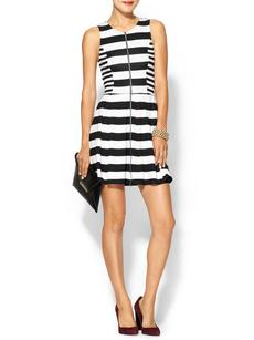 Ella Moss Courtney Sleeveless Dress With Zipper