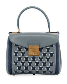 Mini Metropolitan Satchel, Cloud/Atlantic   Mini Metropolitan Satchel, Cloud/Atlantic