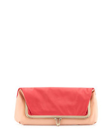 Fold-Over Shoulder Bag and Clutch   Fold-Over Shoulder Bag and Clutch