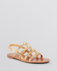 Tory Burch Flat Gladiator Sandals - Reggie