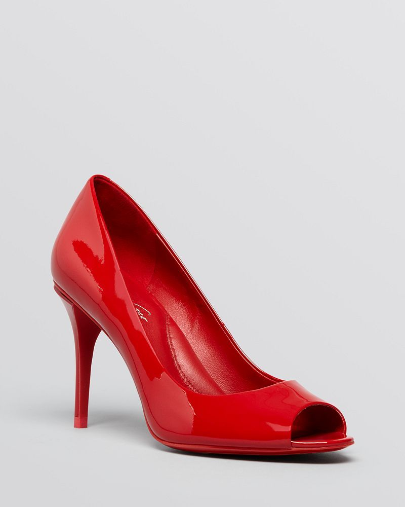 Kenneth Cole Peep Toe Pumps - Ingrahm High Heel