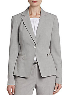Calvin Klein Cross-Dyed Blazer