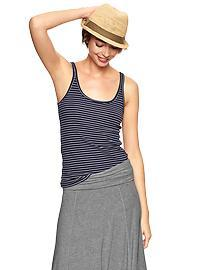 Essential mini-stripe cami