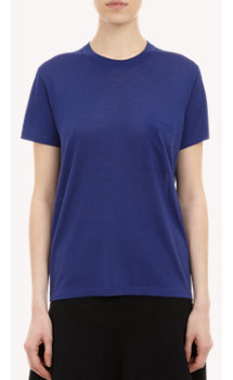 Proenza Schouler Short-Sleeve Sweater