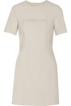 3.1 Phillip Lim Embellished linen-blend canvas mini dress