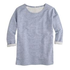 Sweatshirt tunic