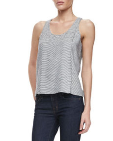 J Brand Ready to Wear Tracey Thin-Stripe Tank