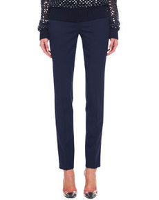 Michael Kors Samantha Slim Pants, Midnight