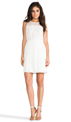 Ella Moss Chrissie Dress in Ivory