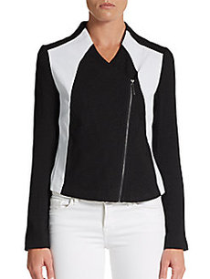Kensie Dot Textured Jacket