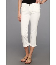 Lucky Brand Sweet Jean Crop w/ Flap in Pearl