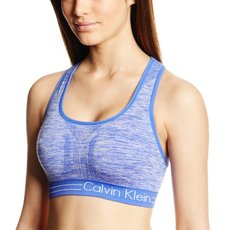 Calvin Klein Performance Women's Reversible Space Dye Medium Impact Sports Bra