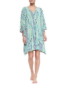 Kismet Short Sleep Tunic, Maritime Blue   Kismet Short Sleep Tunic, Maritime Blue
