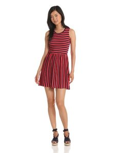 French Connection Women's Martha Striped Jersey Dress