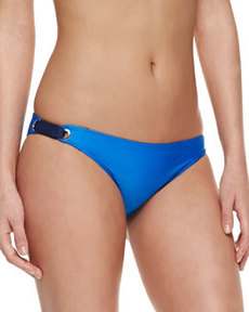 Bayside Solids Retro Swim Bottom, Blue   Bayside Solids Retro Swim Bottom, Blue