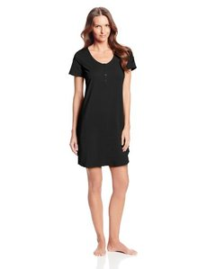 Calvin Klein Women's Short-Sleeve Cotton Nightshirt